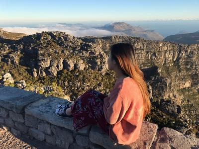 The view from Table Mountain