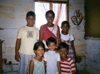 Family at panadura tsunami camp