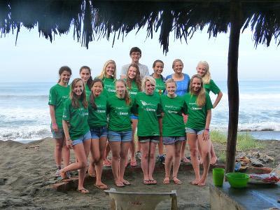 Volunteer group trip