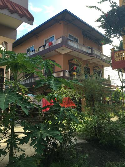 The home of a host family in Nepal
