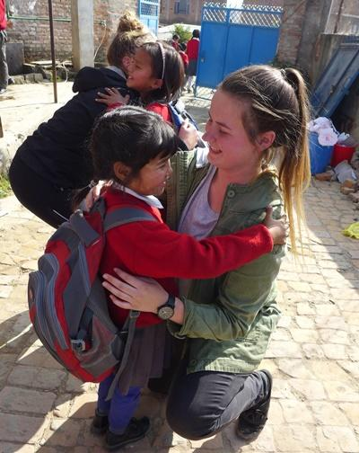 My placement in Nepal