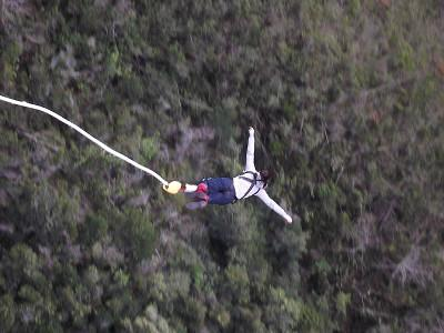 Me mid-bungee