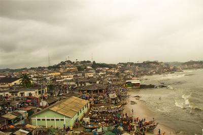 Scenery in Ghana