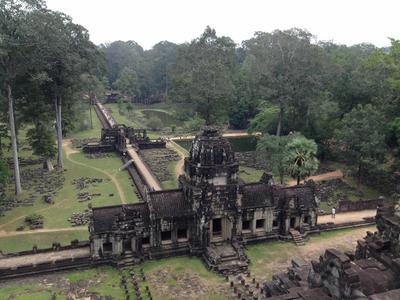The beautiful Angkor temples