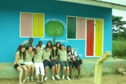 Volunteer group at Lady Heike Nursery