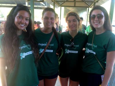 Volunteers in Costa Rica