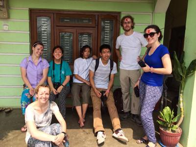 Volunteer community in Nepal