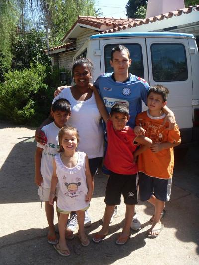 Host family in Argentina