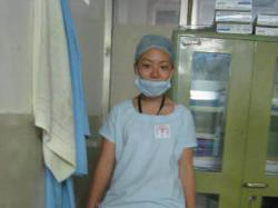Ready for surgery in Nepal
