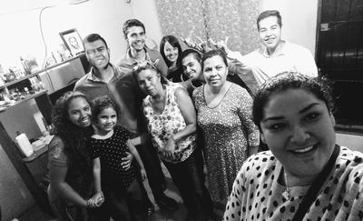 A host family in Mexico