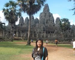 Visiting the temples at Siem Reap