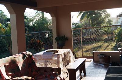 Host family home in Fiji