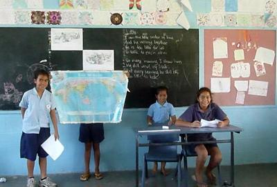 Teaching in Samoa