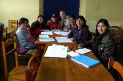 Teaching in Peru