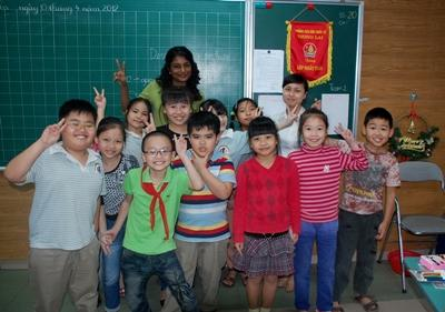 Volunteer teaching project in Vietnam