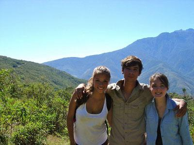 Peru with other volunteers