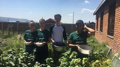 High School Special volunteers in Mongolia