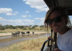 Traveling in Tanzania at the weekend