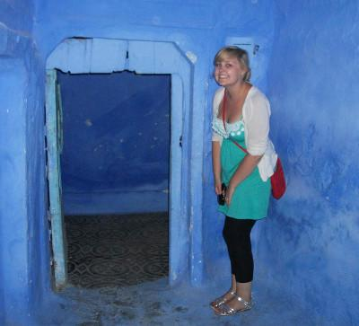Me in little blue house