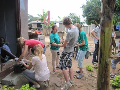 Community work in Ghana