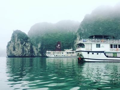 A Cruise in Ha Long Bay