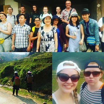 Volunteers in Vietnam
