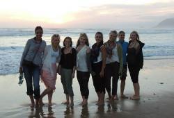 Volunteers in Cape Town