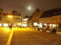 Main square at night