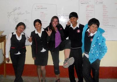 Teaching in Peru – Lauren B.