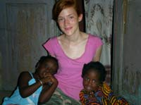 Leila and her Senegalese sisters, Fatima and Penda