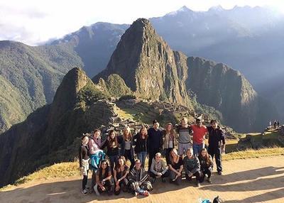 High School Special volunteers visit Machu Picchu in Peru