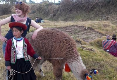 Classic llama shot
