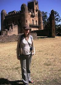 At Gonder castle