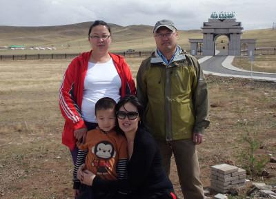 Volunteer hosts Mongolia