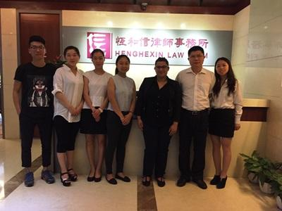 My placement in China