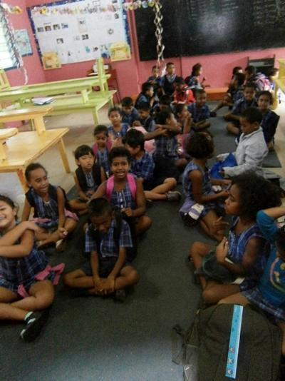 Voluntary teaching project in Fiji