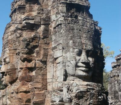 Sight-seeing in Cambodia