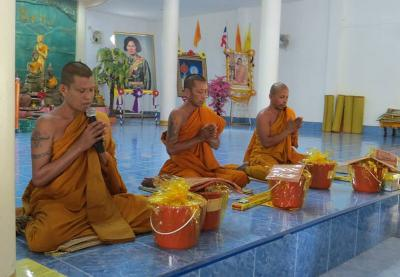 Buddhist ceremony