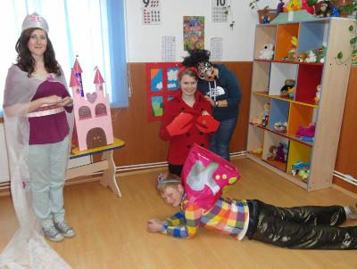 Voluntary drama project in Romania