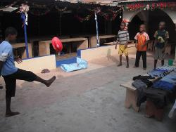Togo games with kids