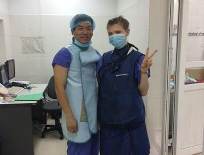 Medical volunteer in Vietnam