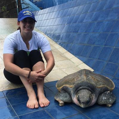 At the Phuket Marine Biology Center
