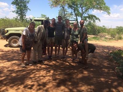 Botswana volunteers