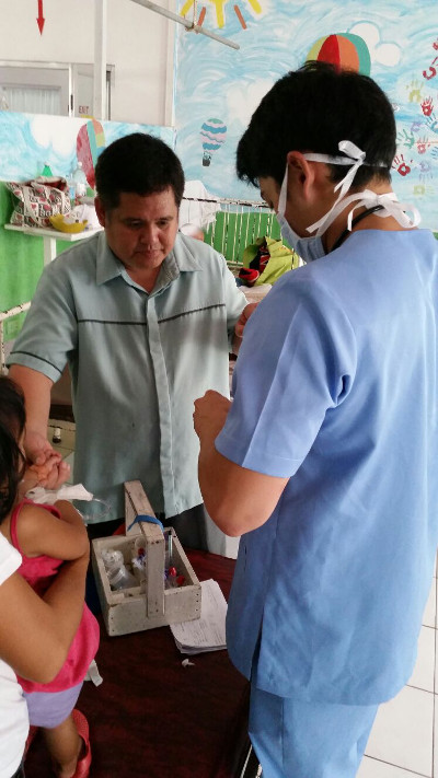 Practical work in the Philippines