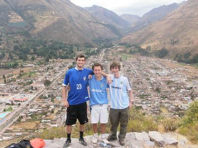 Hiking to get stunning views of Calca