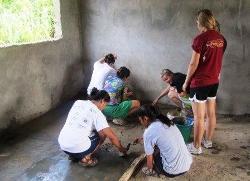 Building the new nursery school