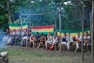 Visit to Rasta village