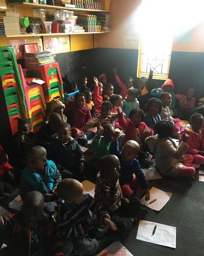 Teaching children about nutrition
