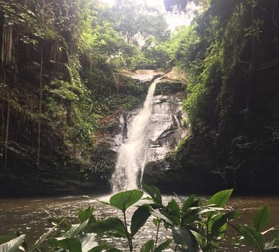 A beautiful waterfall in Togo