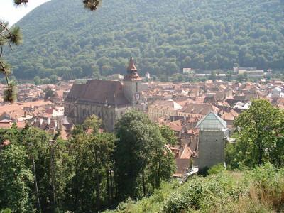 Veiw of Brasov from tower